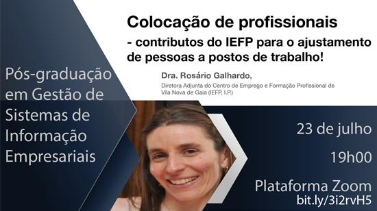 Colocação de Profissionais – contributos do IEFP para o ajustamento de pessoas a postos de trabalho!