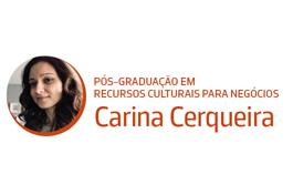 Diretora da Pós-Graduação em Recursos Culturais para Negócios