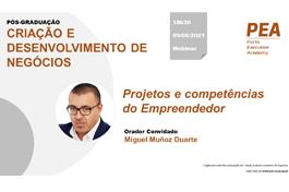 Projetos e competências do Empreendedor